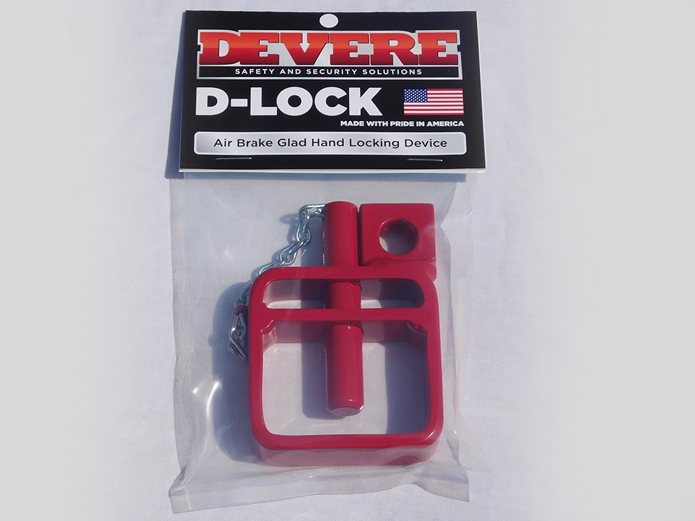 d lock glad hand lock with chain devere enterprises glad hand lock store. Black Bedroom Furniture Sets. Home Design Ideas