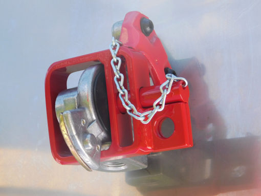 Glad Hand Lock D Lock with chain
