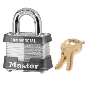 Master Lock No 3 Laminated Steel Padlock
