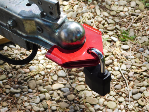 Trailer Hitch Lock