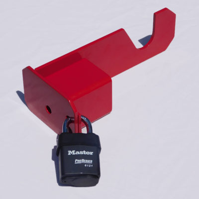 Western Snow Plow Lock
